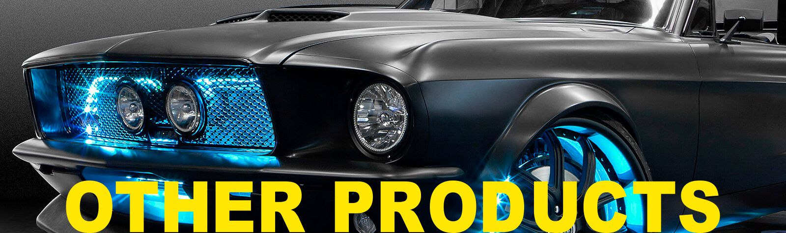 car audio products banner